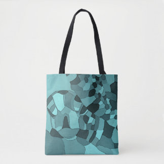 Sea Turtle Mosaic Tote Bag