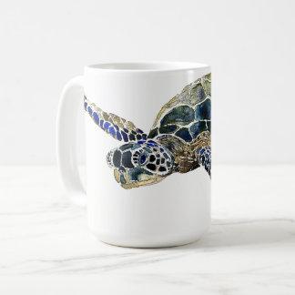 Sea Turtle Ocean Sea Aquatic Animal Art Mug