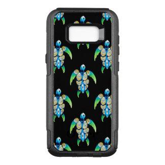 Sea Turtle On Black OtterBox Commuter Samsung Galaxy S8+ Case