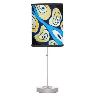 Sea Turtle On Black Table Lamp