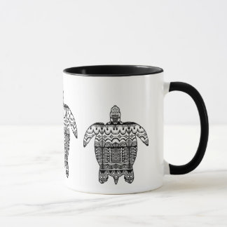 Sea Turtle Pattern Mug