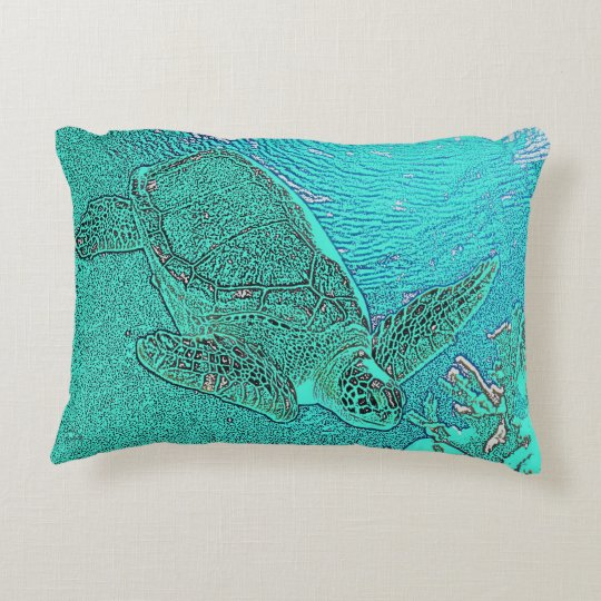 Sea Turtle Pillow Cushion