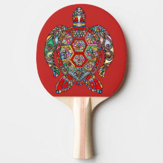 sea turtle ping pong paddle