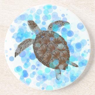 Sea Turtle Round Costers Coaster