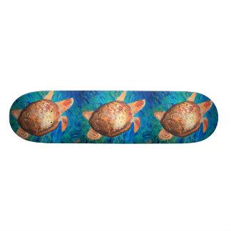 """Sea Turtle"" Skate Board Deck"