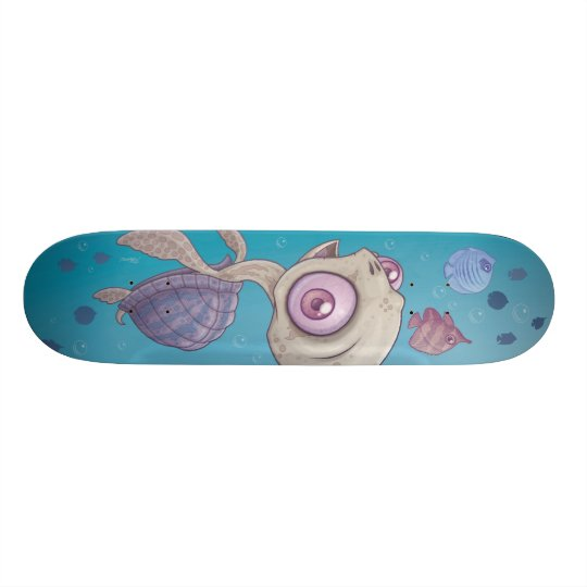 Sea Turtle Skateboard