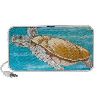 Sea Turtle iPod Speakers