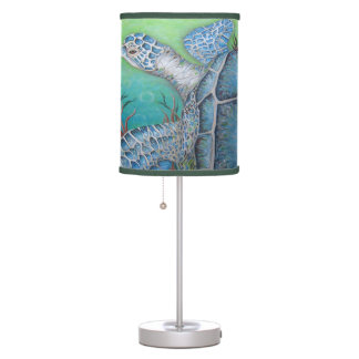 Sea Turtle Table or Hanging Lamp
