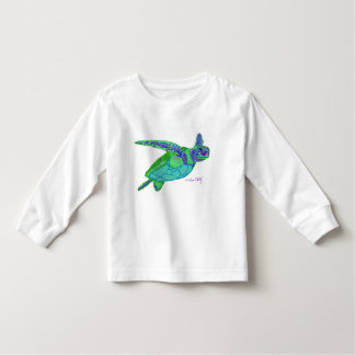 Sea Turtle toddler tee shirt