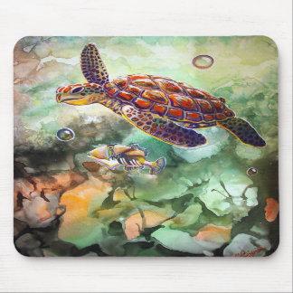 Sea Turtle Trigger Mouse Pad
