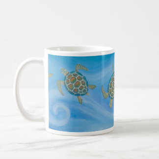Sea Turtles Artwork - ceramic mug