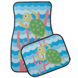 Sea Turtles Car Mats Car Carpet