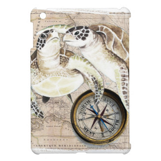 Sea Turtles Compass Map Case For The iPad Mini