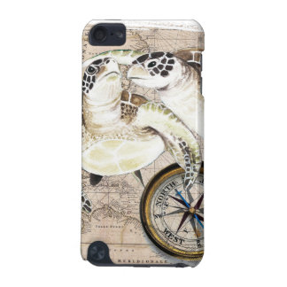 Sea Turtles Compass Map iPod Touch 5G Case