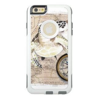 Sea Turtles Compass Map OtterBox iPhone 6/6s Plus Case