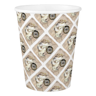 Sea Turtles Compass Map Paper Cup