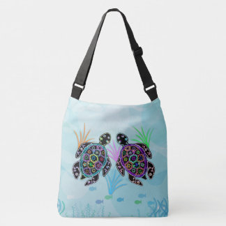 Sea Turtles Crossbody Bag