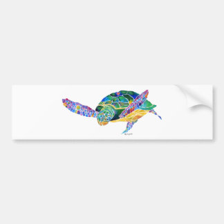 Sea Turtles from the Ocean Bumper Sticker