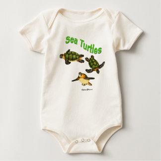 Sea Turtles Infant Organic Creeper