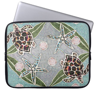 Sea Turtles & Kelp Laptop Sleeve 15 inch