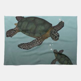 Sea Turtles Kitchen Towel