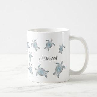 Sea Turtles Monogram Coffee Mug