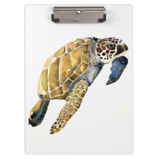 Sea Turtles Ocean Animals Wildlife Clipboard