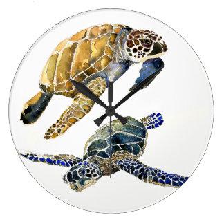 Sea Turtles Ocean Animals Wildlife Wall Clock