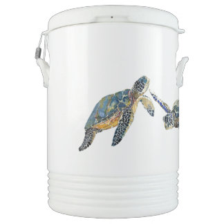 Sea Turtles Ocean Wildlife Animals Igloo Cooler