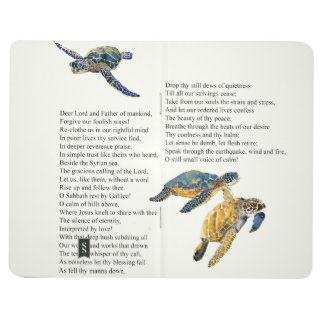 Sea Turtles Peace Poem Prayer Jesus Journal