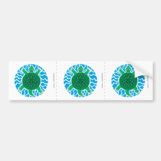 Sea Turtles, Recycling Bumper Sticker