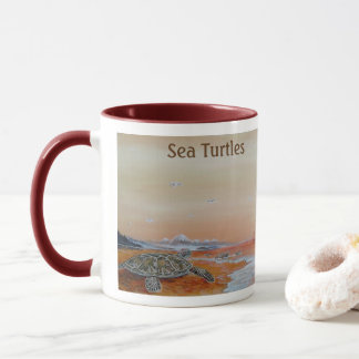 Sea Turtles! The Sea Turtle Mug for Turtles fans.