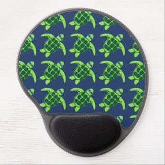 Sea Turtles with Sunglasses Gel Mouse Mats