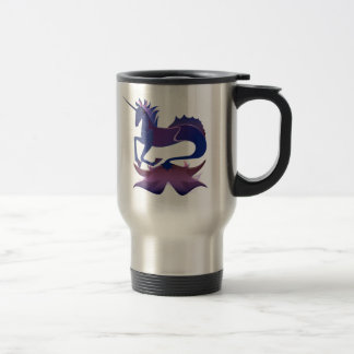 Sea Unicorn Travel Mug
