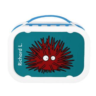 Sea Urchin Uni Spiny Red Hedgehog Ocean Lunch Box
