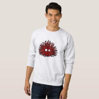 Sea Urchin Uni Spiny Red Hedgehog Ocean Sweatshirt