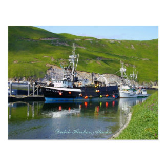 Sea Venture at the spit, Dutch Harbor, Alaska Postcard