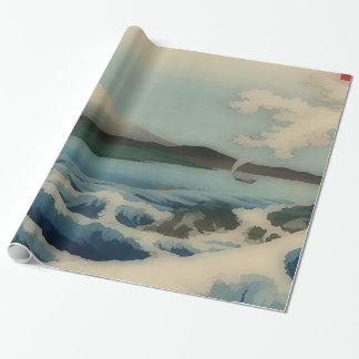 Sea view from Satta Point Wrapping Paper