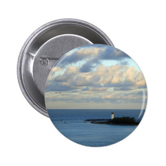 Sea View II 2 Inch Round Button