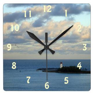 Sea View II Clocks