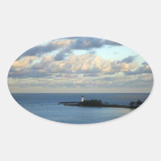 Sea View II Sticker
