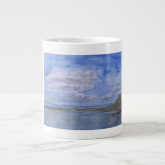 sea view large coffee mug