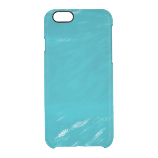 sea water background clear iPhone 6/6S case