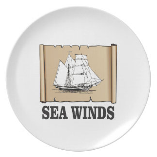 sea winds go party plates
