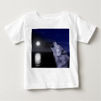 Sea wolf - moon wolf - full moon - wild wolf baby T-Shirt