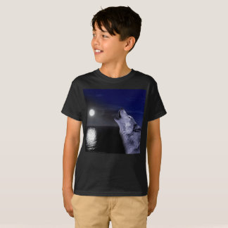 Sea wolf - moon wolf - full moon - wild wolf T-Shirt
