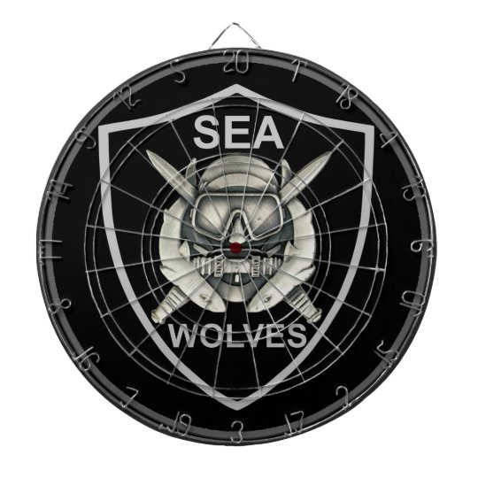Sea Wolves Custom Dartboard