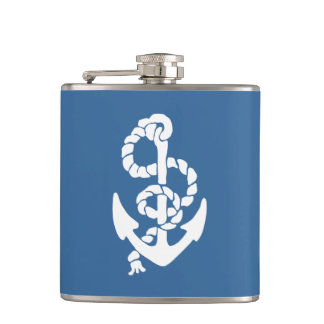 Sea Worthy Father's Day Flask
