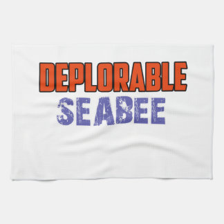 seabee design kitchen towel