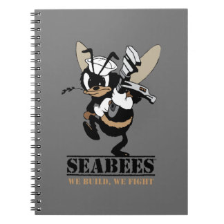 Seabees We build We Fight Notepad Notebook